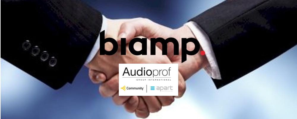 BIAMP ANNOUNCES ACQUISITION OF COMMUNITY LOUDSPEAKERS AND APART AUDIO