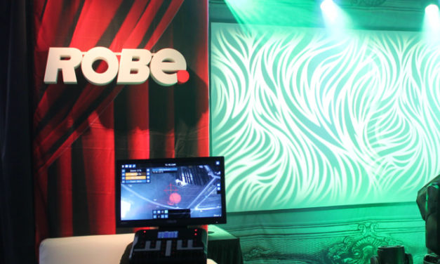 VIDEO-ROBE LIGHTING AT MEDIATECH AFRICA
