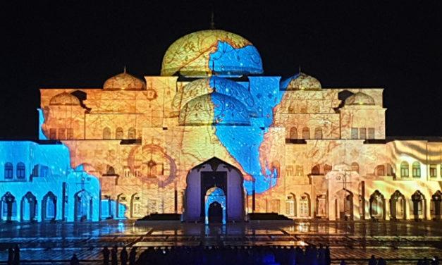 CT INSTALLS 'A PALACE IN MOTION' AT QASR AL WATAN