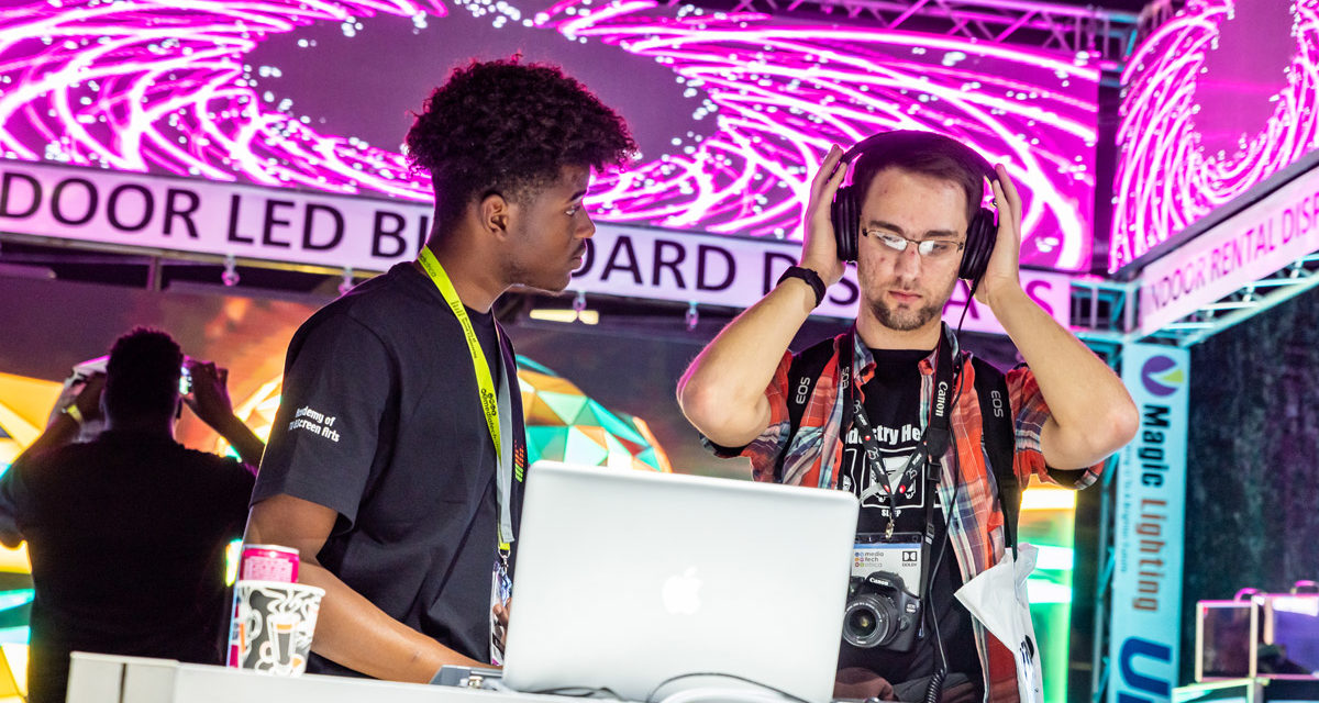 A FRESHLYGROUND OPPORTUNITY FOR YOUNG AUDIO ENGINEERS
