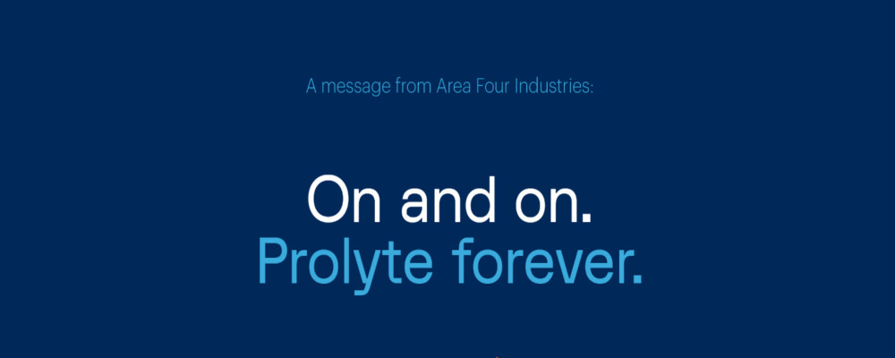 BREAKING NEWS: AREA FOUR INDUSTRIES ACQUIRES PROLYTE