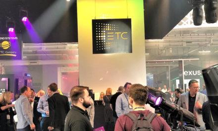 ETC CELEBRATES AUGMENT3D AWARD WIN AT PLASA 2019