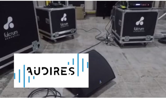 FULCRUM ACOUSTIC APPOINTS AUDIRES BV AS SALES REPRESENTATIVE FOR  EMEA