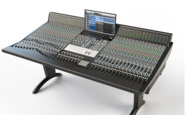 SOLID STATE LOGIC PREVIEW ORIGIN – NEXT GENERATION ANALOGUE STUDIO CONSOLE