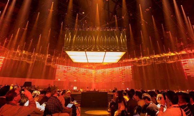 ROBE LIGHTING FOR CISCO LIVE ART