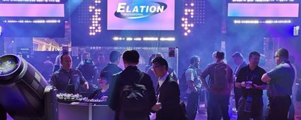 ELATION ADDS WORLD PREMIERE PRODUCT LAUNCHES FOR LDI