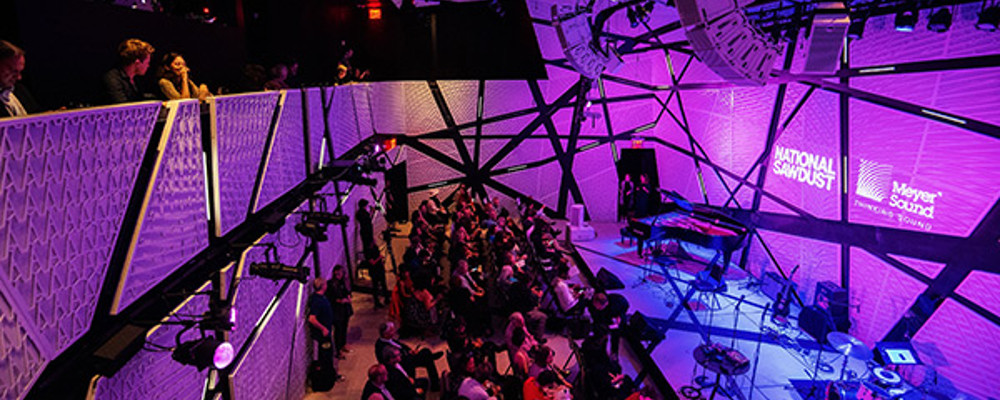 MEYER SOUND PARTNERSHIP WITH NATIONAL SAWDUST OPENS NEW REALMS FOR MUSICAL INNOVATION