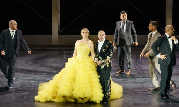 ELATION ARTISTE PICASSO IMPRESSES AT ROYAL OPERA HOUSE IN LONDON