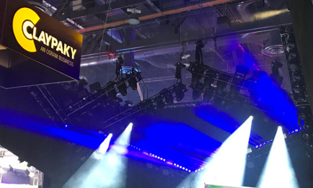 CLAYPAKY AT LDI 2019