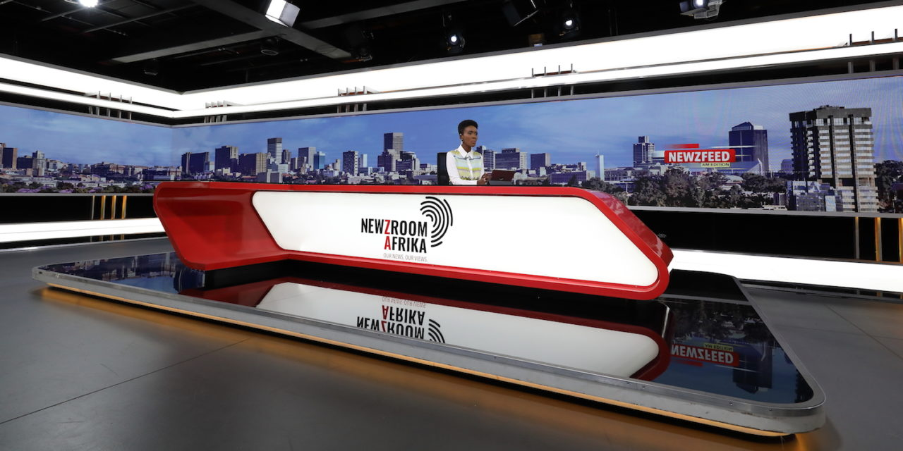 THE MAKING OF NEWZROOM AFRIKA