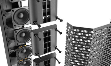 ELECTRO-VOICE LAUNCHES THE EVOLVE 30M COMPACT COLUMN LOUDSPEAKER SYSTEM WITH ONBOARD MIXER, DSP AND EFFECTS