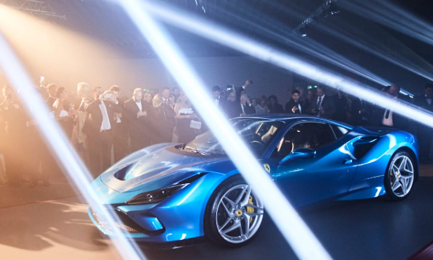 CLAYPAKY LIGHTING FIXTURES HELP UNVEIL FERRARI'S F8 TRIBUTO