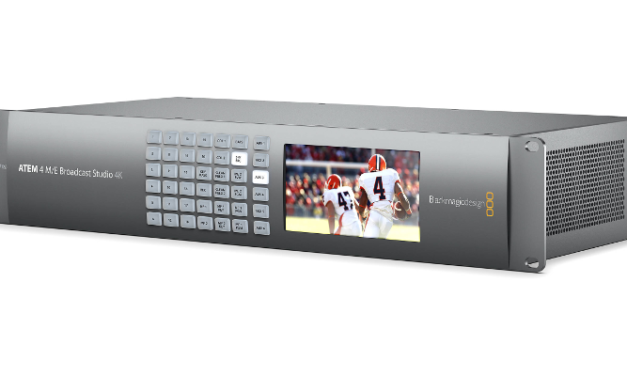 BLACKMAGIC DESIGN: ATEM 4 M/E Broadcast Studio 4K