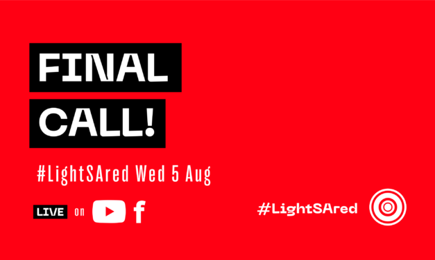 Red Alert – this is your final call for #LightSAred