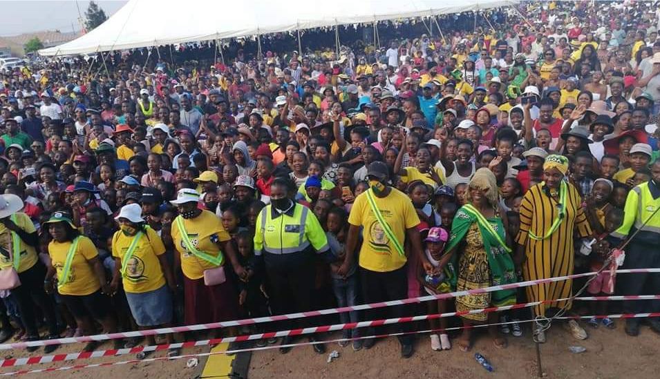 Double Standards as Thousands Attend ANC Rally